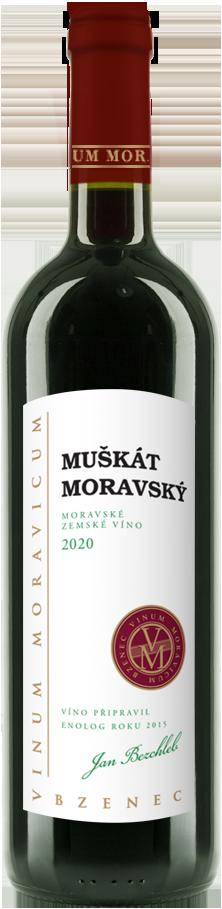 Muškát moravský 2020