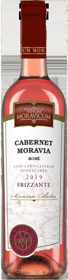 Cabernet Moravia rosé frizzante 2019